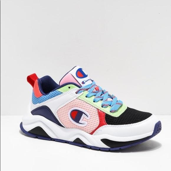Champion Ninety Three 18 SP Block Sneakers 8.5